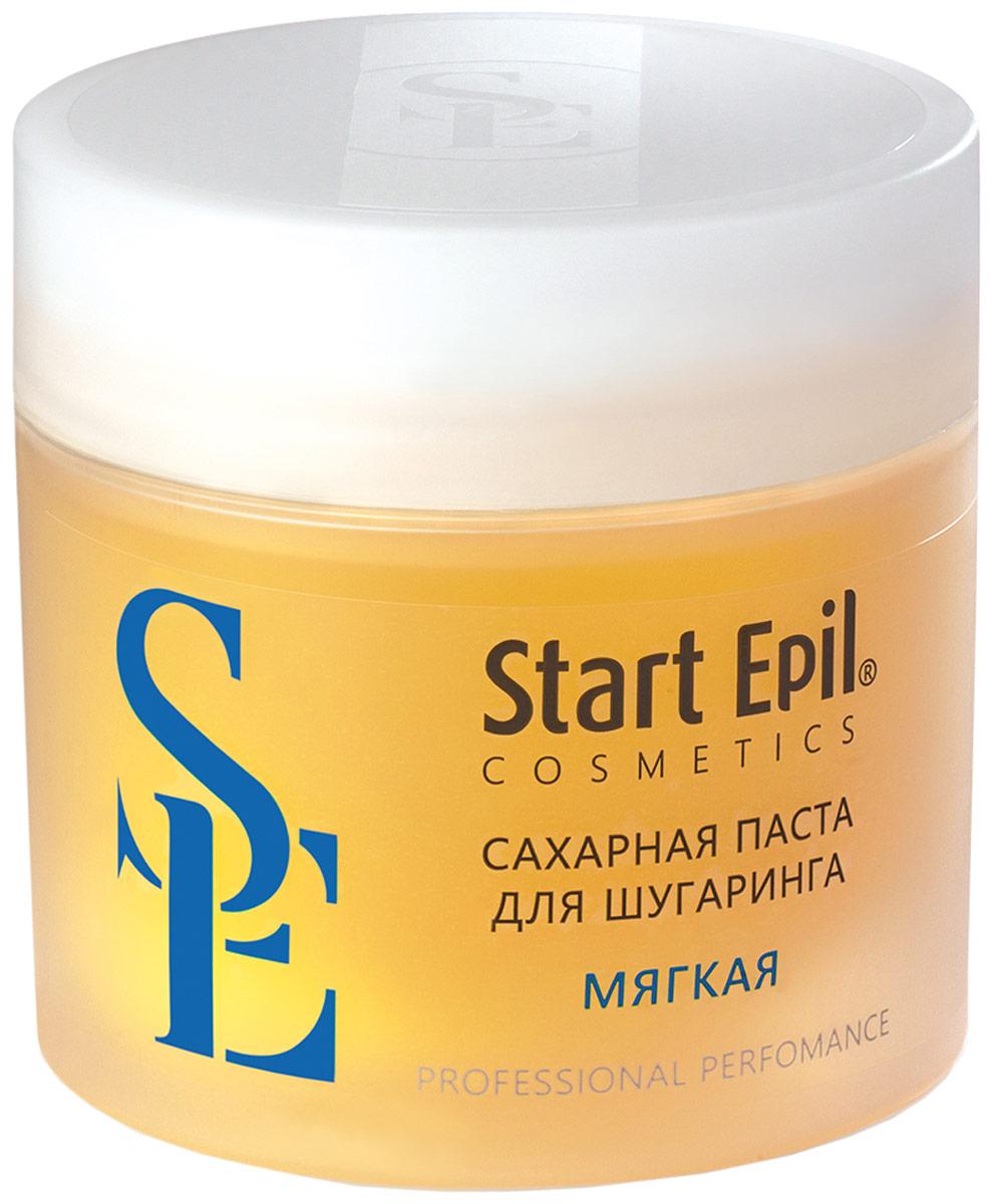Start Epil Сахарная паста для депиляции Мягкая, 400 г домашний шугаринг start epil паста для депиляции универсальная 400гр 2024