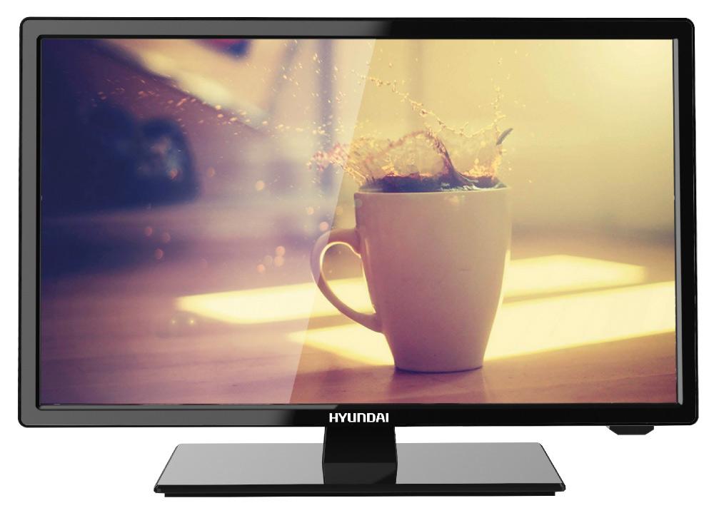Телевизор HYUNDAI H-LED19R401BS2, черный телевизор hyundai h led19r401bs2 черный