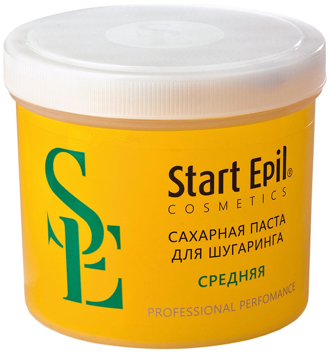 Start Epil Сахарная паста для депиляции Средняя, 750 г