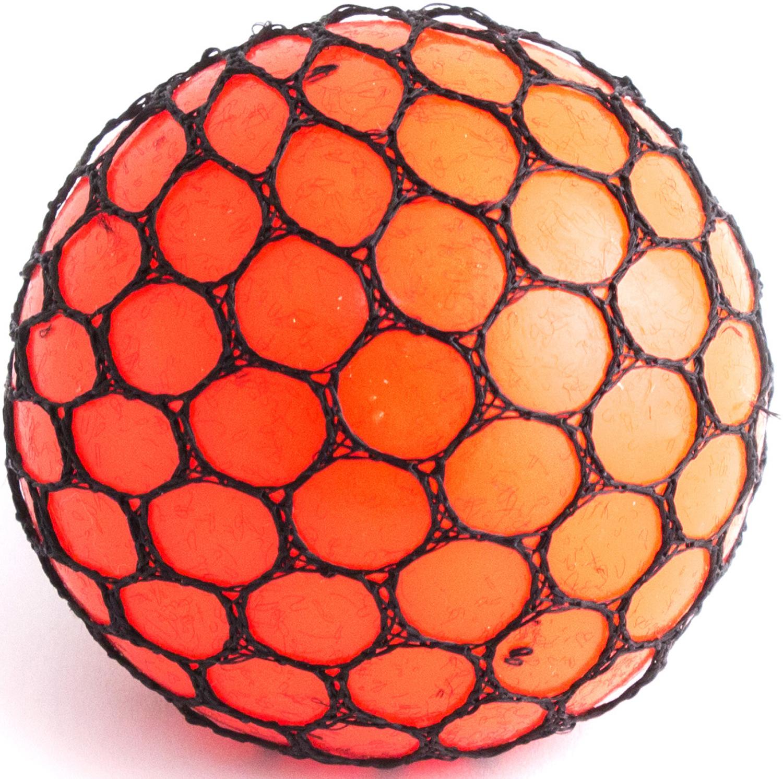Фото - Игрушка-мялка Эврика Шарик, цвет: оранжевый светильник для чтения книг эврика цвет оранжевый