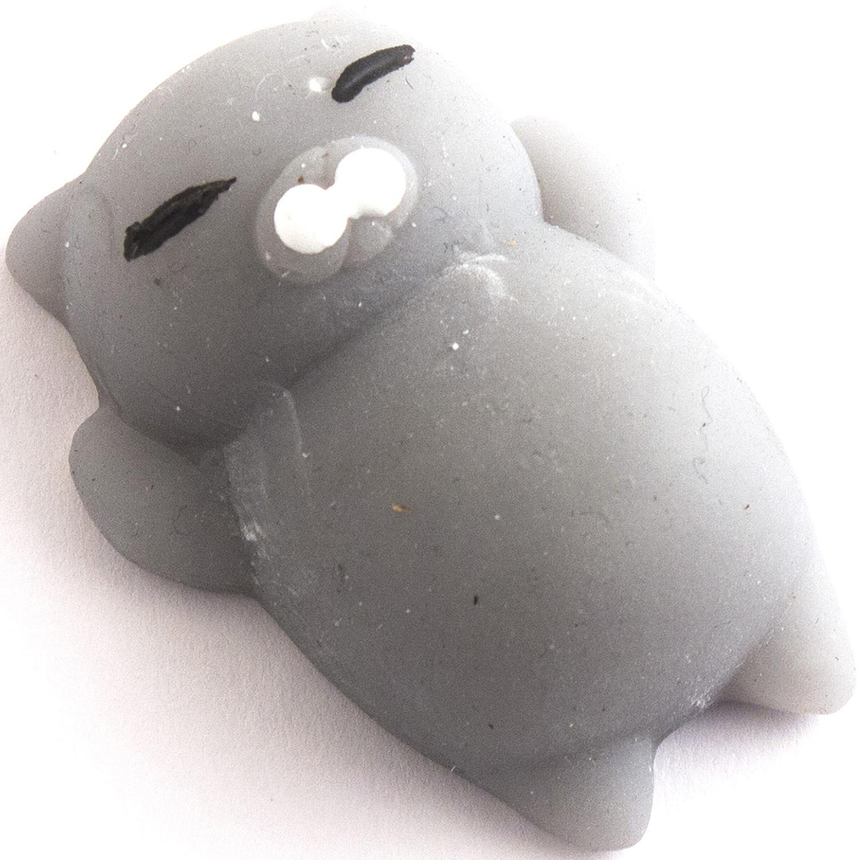 Релаксант-мялка Эврика Котик №2, цвет: серый цена