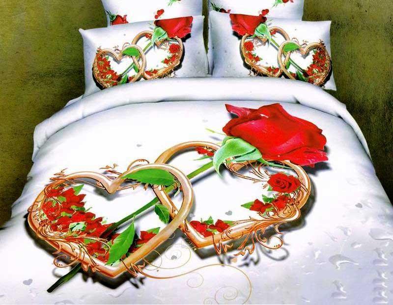 "Комплект для спальни Tango ""Amaliya"": покрывало 220 х 240 см, наволочки 50х70 см, цвет: белый"