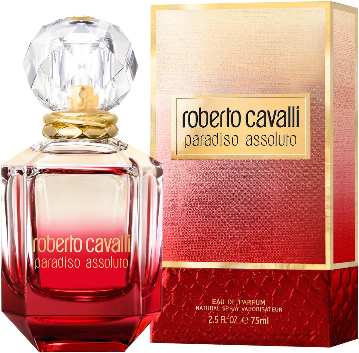 Roberto Cavalli Paradiso Assoluto женская Парфюмерная вода 75 мл