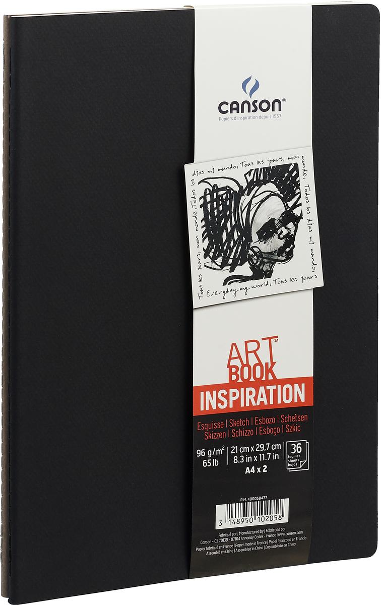 Canson Блокнот для зарисовок Art Book А4 36 листов 2 шт
