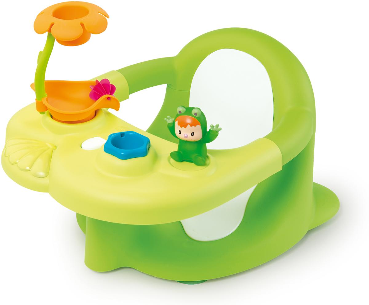 Smoby Стульчик-сидение для ванной Cotoons цвет зеленый cotoons стульчик для ванной с 6 мес