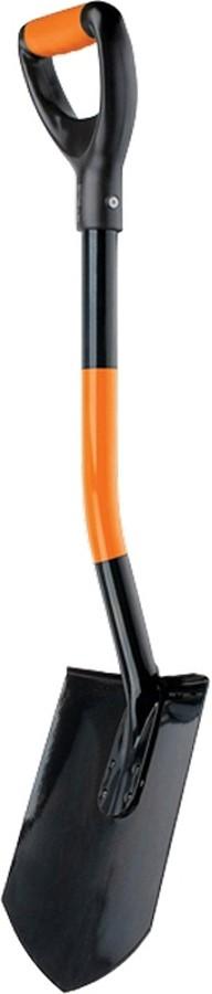 Лопата автомобильная Stels, металлический черенок, заостренная, 840 мм лопата универсальная stels черенок из морозостойкого пластика 205 х 260 мм