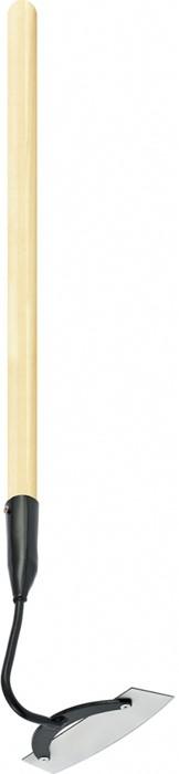 Мотыга садовая Сибртех, 170 х 60 мм, с деревянным черенком, 770 мм мотыга 60х80мм c черенком 760мм сибртех
