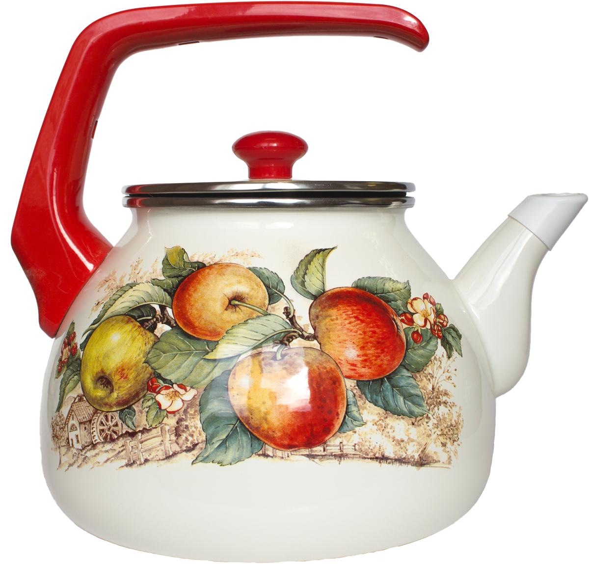 Чайник Interos Яблоки, 3 л чайник яблоки 1 л