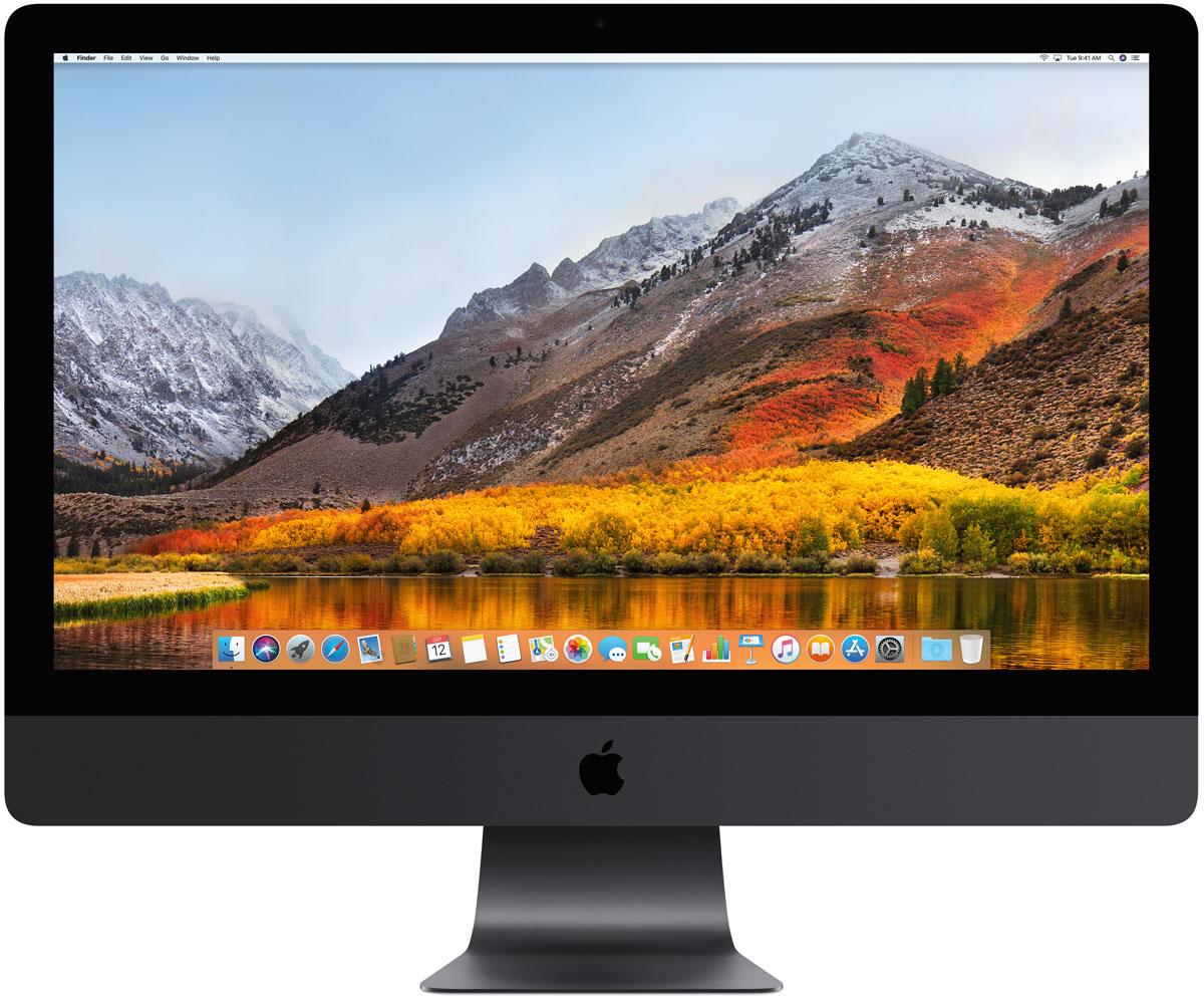 Моноблок Apple iMac Pro 27 Retina 5K, MQ2Y2RU/A, серый космос компьютер apple mac pro md878ru a