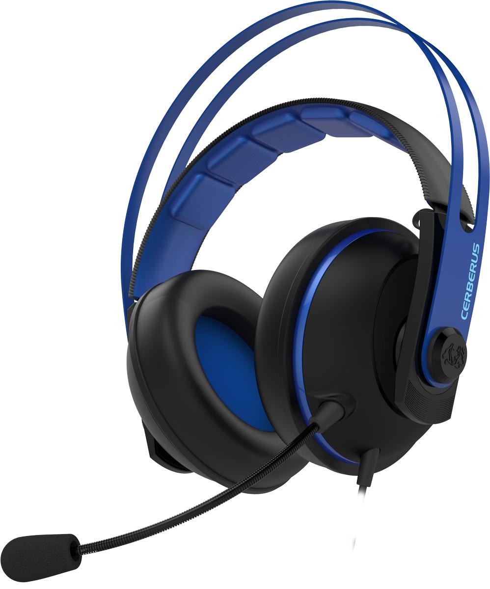ASUS Cerberus V2 90YH016B-B1UA00, Blue игровые наушники