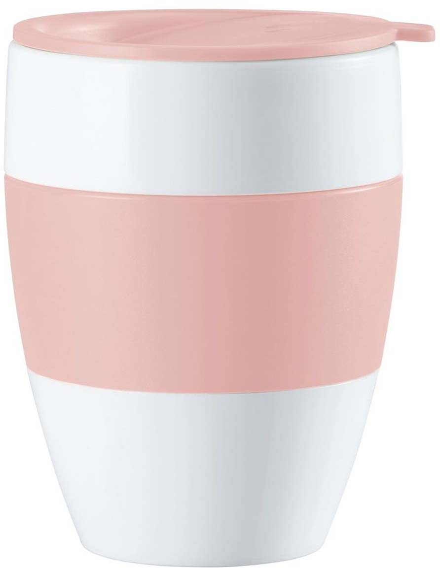 Термокружка Koziol Aroma To Go 2.0, цвет: розовый, 400 мл