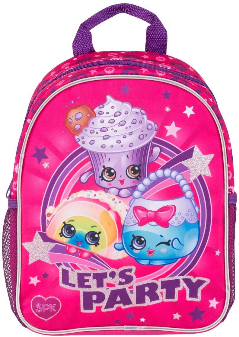 36c076070f80 Shopkins Рюкзак детский Вечеринка Шопкинс цвет розовый — купить в интернет-магазине  OZON.ru с быстрой доставкой