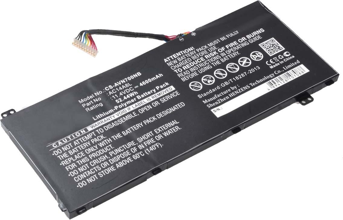 Pitatel BT-014 аккумулятор для ноутбуков Acer Aspire V Nitro VN7-571/571G/591/591G/791 ноутбук acer aspire v nitro vn7 591g 771j nx muyer 002