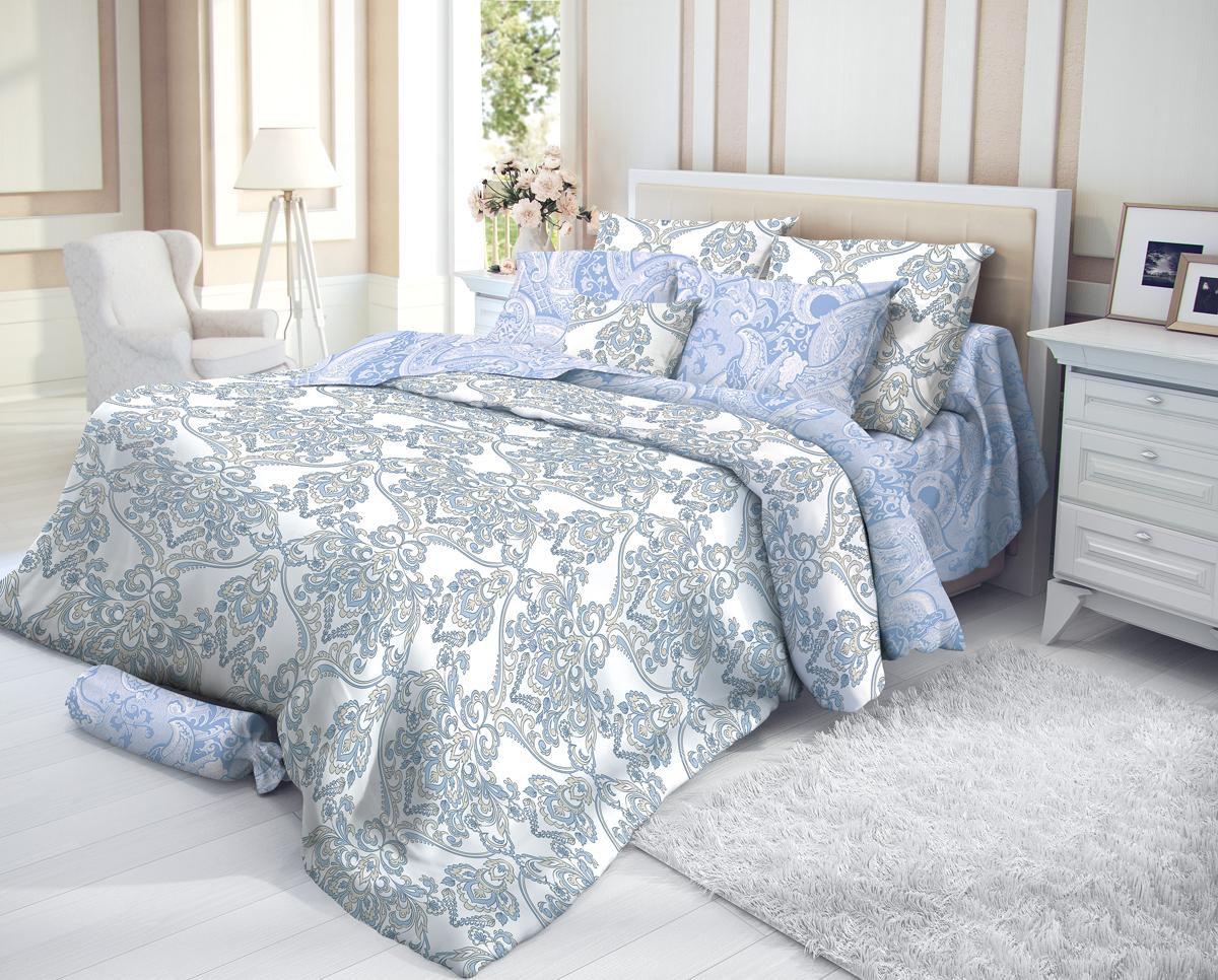 """Комплект белья Verossa """"Manisa"""", 1,5-спальный, наволочки 70х70, цвет: белый"""