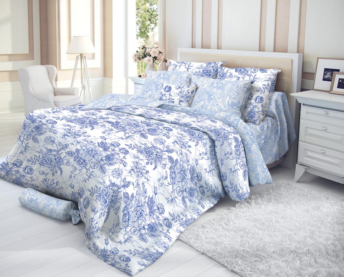 """Комплект белья Verossa """"Sorb"""", 1,5-спальный, наволочки 70х70, цвет: белый"""