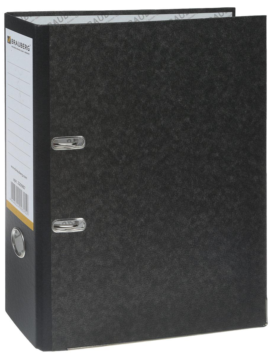 Brauberg Папка-регистратор цвет черный 220987