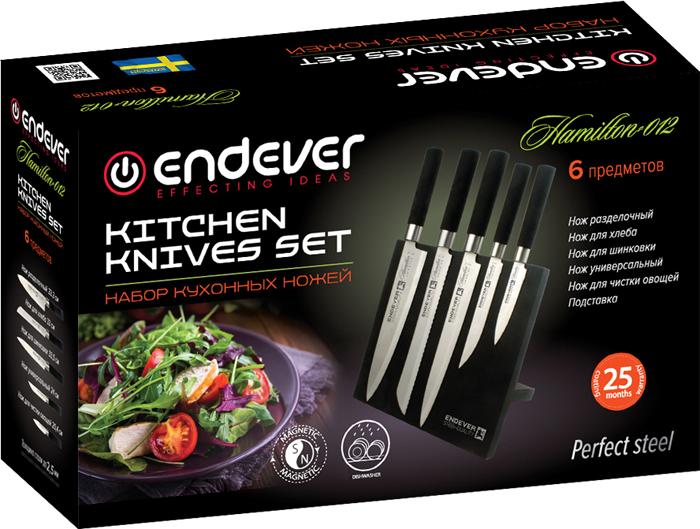 Набор кухонных ножей Endever Hamilton-012 endever hamilton 012