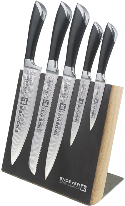 Набор кухонных ножей Endever Hamilton-014
