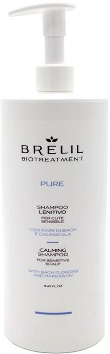 Brelil Bio Traitement Pure Calming Shampoo Деликатный восстанавливающий шампунь, 1000 мл цена