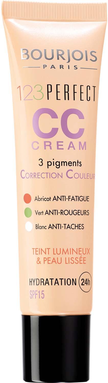 Bourjois Крем Корректор Тона CC Cream Тон 31 ivoire 30 мл lumene nordic chic cc color correcting pen anti redness корректор против покраснений тон зеленый 1 8 г