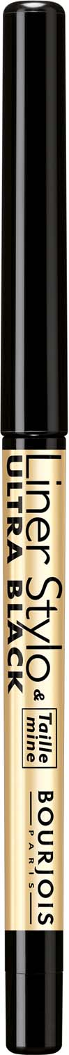 Bourjois контурный карандаш с точилкой для макияжа глаз liner stylo Тон 61 ultra black 1 мл подводка карандаш для глаз bourjois liner stylo 0 28 гр тон 41 черный