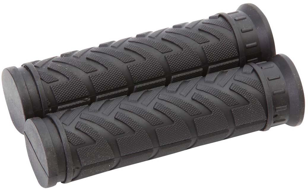 Грипсы STG HL-G47A, цвет: черный, 110 мм, 2 шт