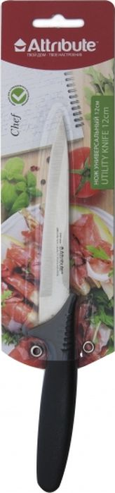 """Нож универсальный Attribute Knife """"Chef"""", длина лезвия 12 см"""