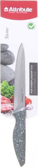 """Нож универсальный Attribute Knife """"Stone"""", длина лезвия 13 см"""