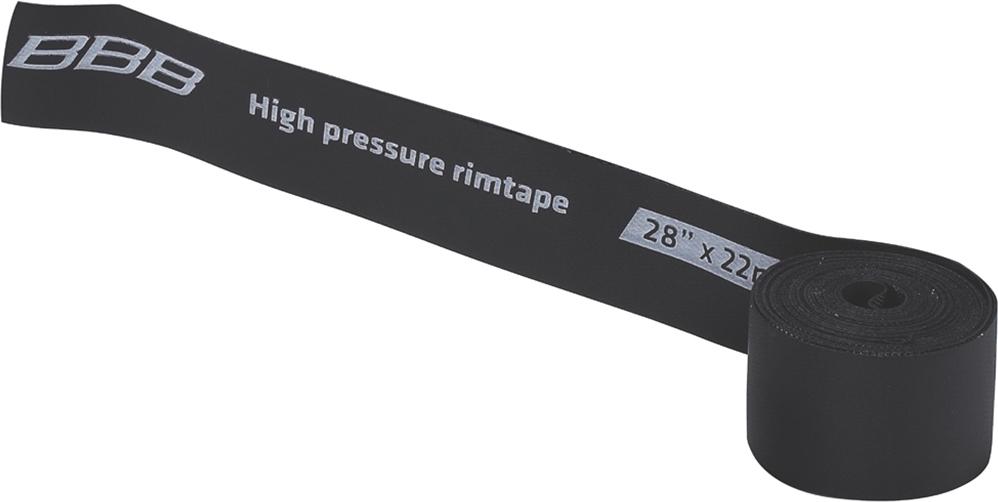 """Лента защитная на обод BBB """"HP"""", цвет: черный, 28"""" x 22 мм"""