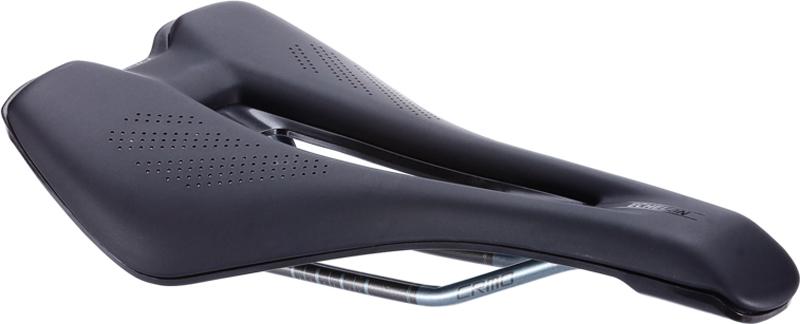 Седло велосипедное BBB Echelon Vacuum Performance, цвет: черный, 145 мм