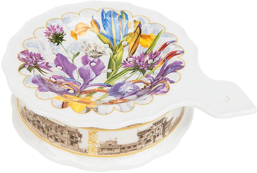 Подставка под чайный пакетик Nouvelle De France Ирис, 13 х 10 х 3,5 см банка для чайных пакетиков nouvelle de france ирис 9 х 8 х 19 см