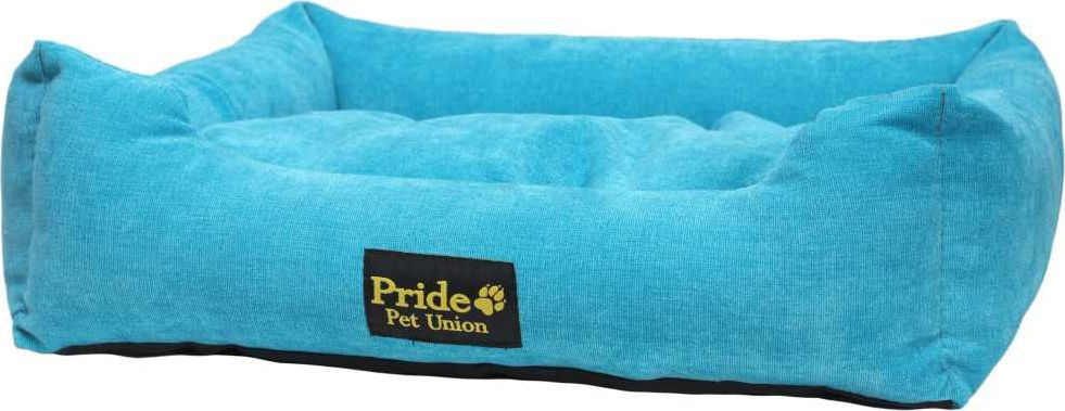 """Лежак для животных Pride """"Палитра"""", цвет: голубой, 52 х 41 х 10 см. 10012410"""