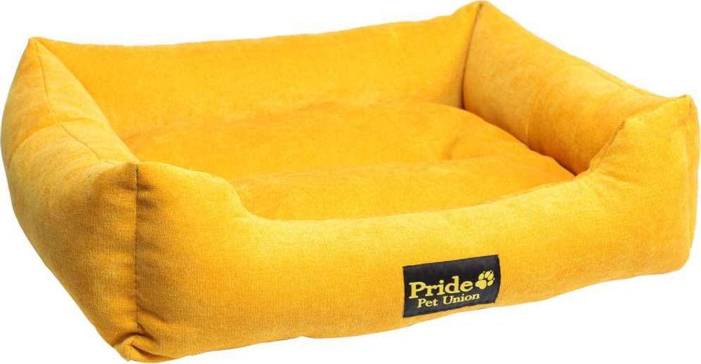 Лежак для животных Pride Палитра, цвет: золотой, 52 х 41 х 10 см. 10012440