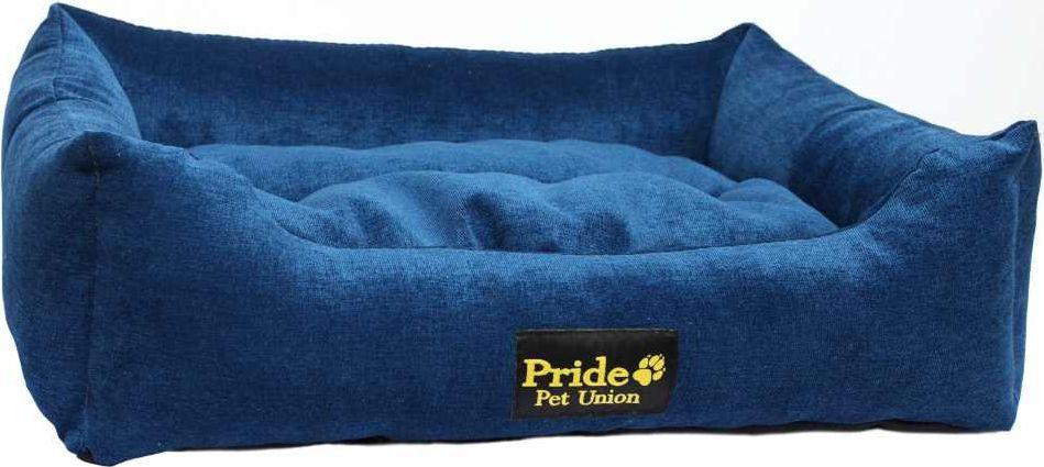 """Лежак для животных Pride """"Палитра"""", цвет: синий, 52 х 41 х 10 см. 10012450"""
