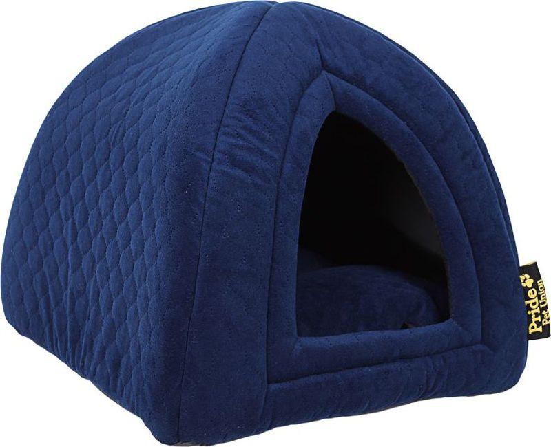 Домик для животных Pride Ватсон, цвет: синий, 40 х 40 х 40 см. 10031131
