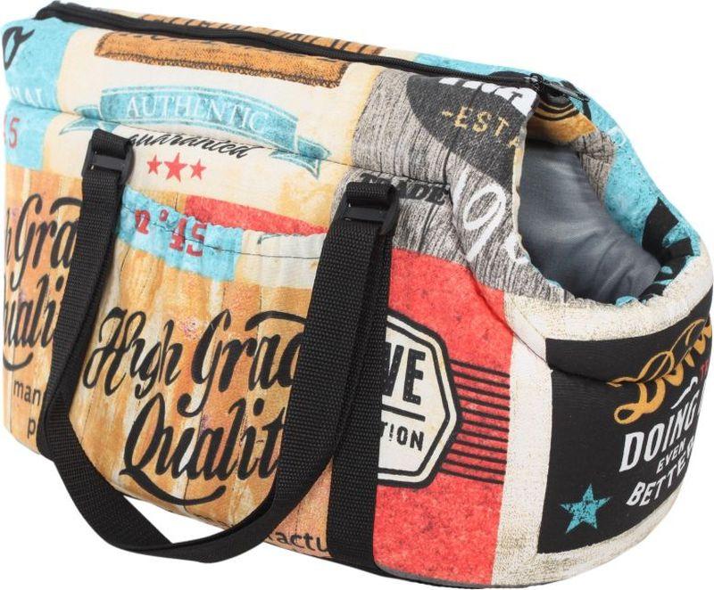 Сумка для животных Pride Трэвел. Кантри, 30 х 20 х 20 см. 10051213 сумка для животных кантри pride 37х 22 х 21см