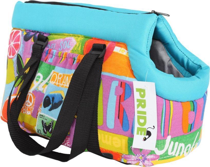 Сумка для животных Pride Трэвел. Карибия, 43 х 24 х 24 см. 10051264 сумка для животных кантри pride 37х 22 х 21см