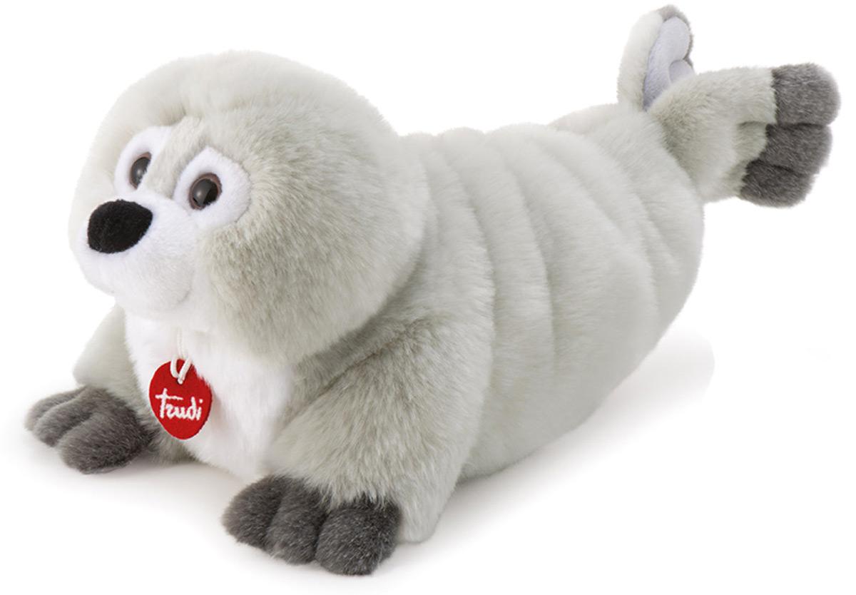 Trudi Мягкая игрушка Серый Тюлень Рензо 39 см