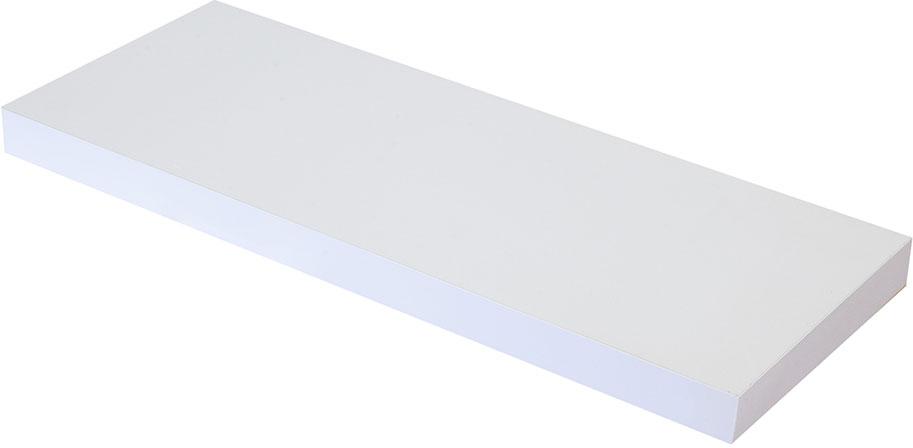 Полка настенная Handy Home, цвет: белый, 60 х 23,5 х 3,8 см декоративная полка creative home