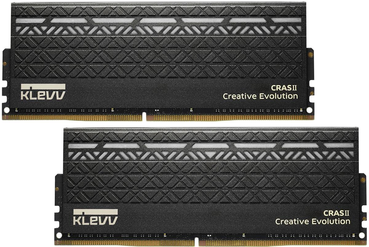 Модуль оперативной памяти Klevv Cras II DDR4 DIMM 2х16Gb 3000MHz CL16