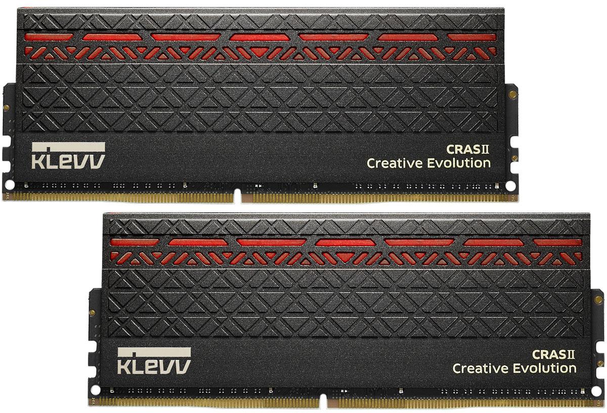 Модуль оперативной памяти Klevv Cras II DDR4 DIMM 2х8Gb 3000MHz CL16