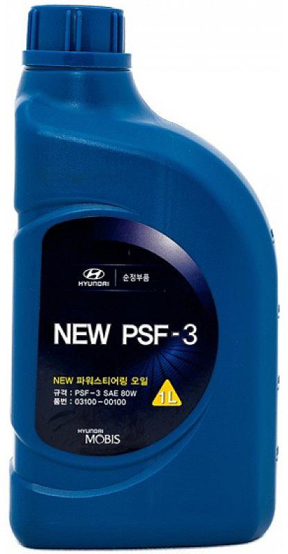 Жидкость для гидроусилителя руля Hyundai / KIA PSF-3 SAE 80W, 1 л цена