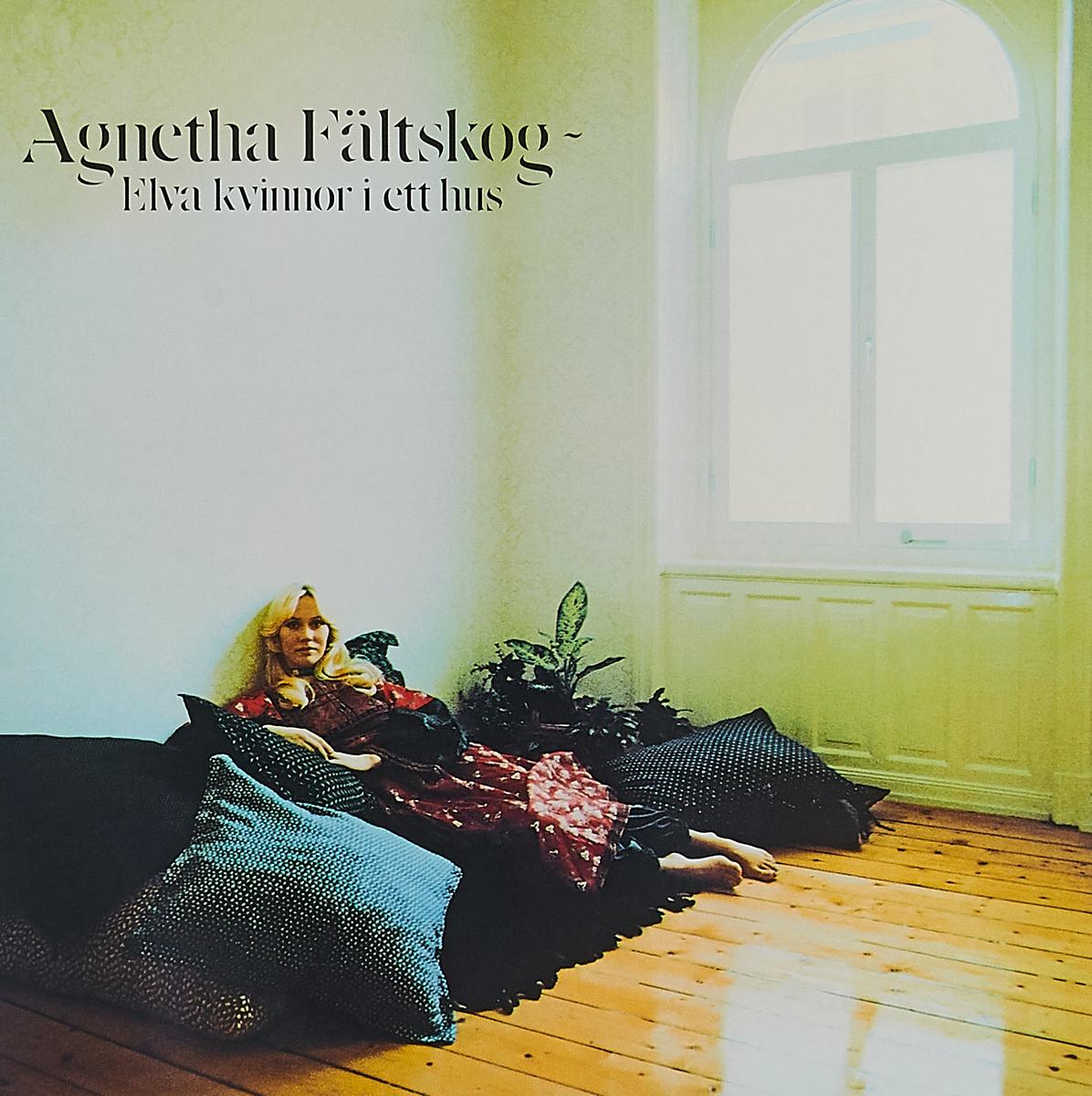 Агнета Фальтског Agnetha Faltskog. Elva Kvinnor I Ett Hus (LP) цена и фото