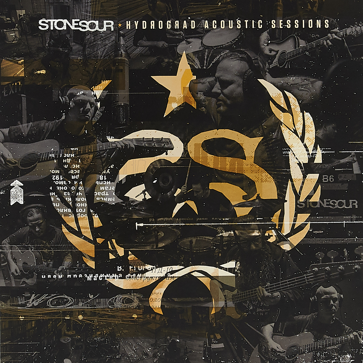 Stone Sour Stone Sour. Hydrograd Acoustic Sessions (LP) эван паркер electro acoustic ensemble evan parker electro acoustic ensemble the eleventh hour