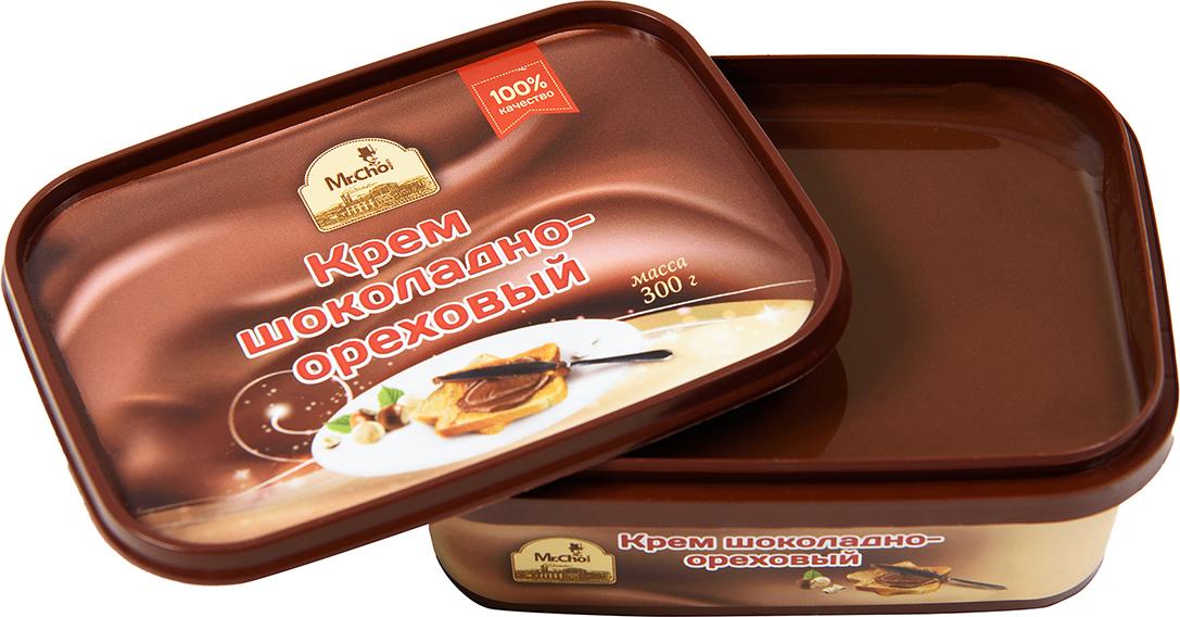 Mr.Cho Крем шоколадно-ореховый, 300 г