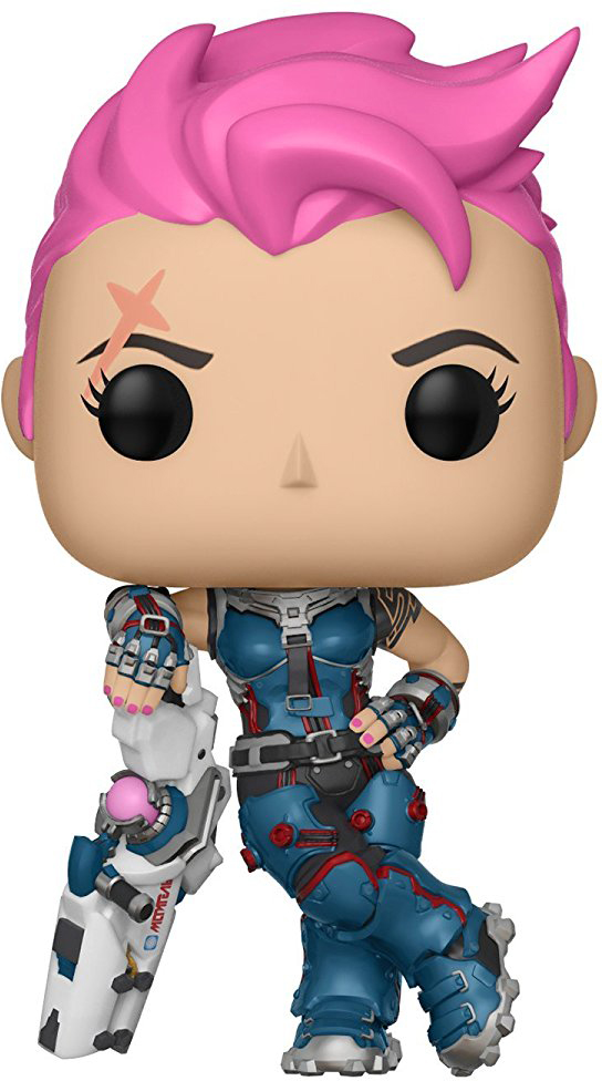 Funko POP! Vinyl Фигурка Games Overwatch S3 Zarya 29048 funko pop vinyl фигурка lotr hobbit s3 pippin took 13564