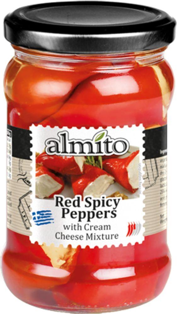 Almito Греческий красный перец с сыром, 320 мл
