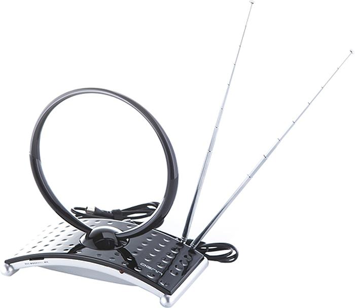 Denn DAA235 комнатная ТВ-антенна (активная)