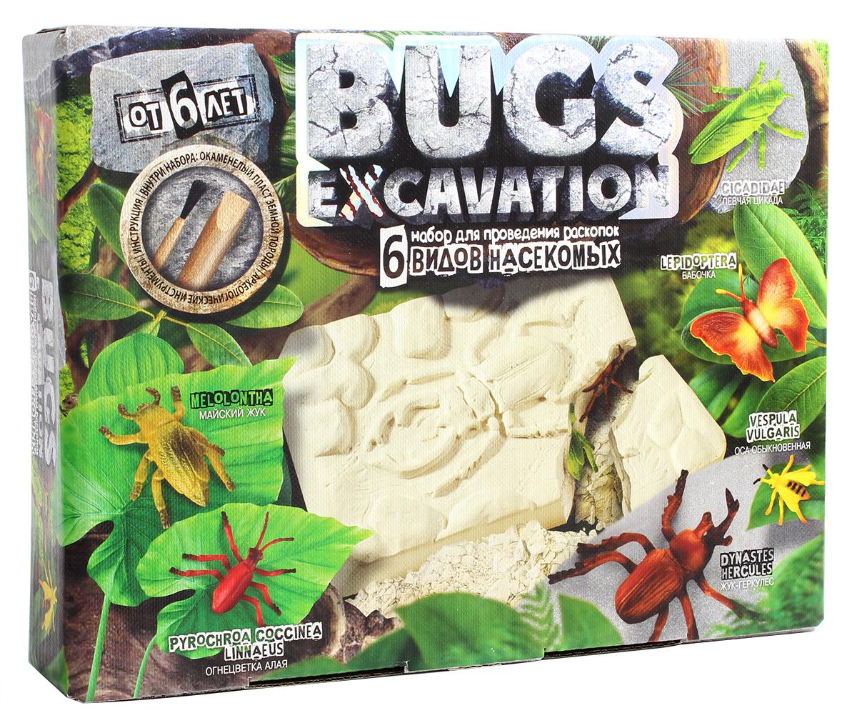 ДанкоТойс Набор для раскопок Bugs Excavation Жуки Набор 3 набор для раскопок danko toys bugs excavation жуки набор 4