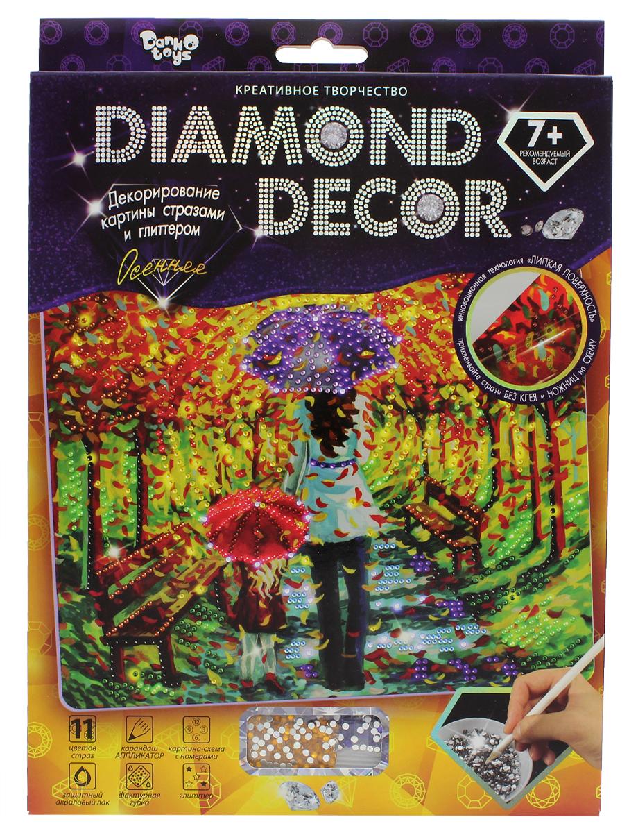 ДанкоТойс Набор для создания мозаики Diamond Decor Набор 11 Осенняя
